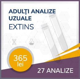 analize uzuale extins