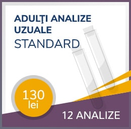 analize uzuale standard