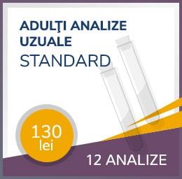 analize uzuale standard