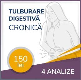 pachet tulburare digestiva cronica