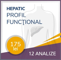 pachet hepatic profil functional