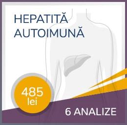pachet hepatita autoimuna