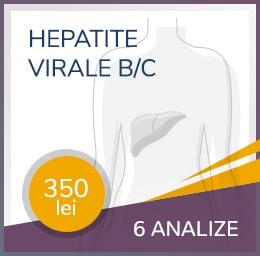 Pachet hepatita virala B/C
