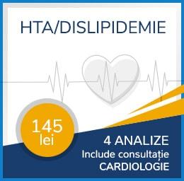 Pachet HTA / Dislipidemie