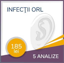 Pachet infectii ORL