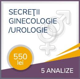 secretii ginecologice urologie