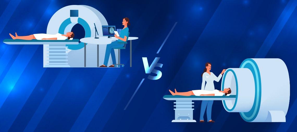 CT vs RMN